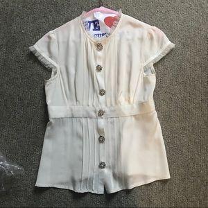 Vintage Nanette Lepore Silk blouse